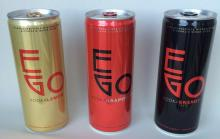 EGO energy Drink with Vodka