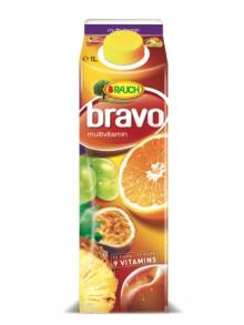 Rauch Bravo Melon-Pineapple 1L