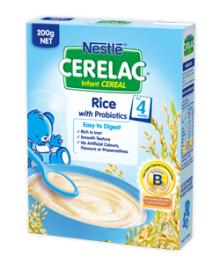 CERELAC Infant Cereal Range