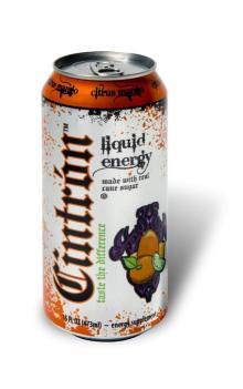 Citrus Mango Energy drinks