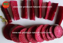 produce beet root red natural color