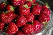 Fresh strawberries Grade A