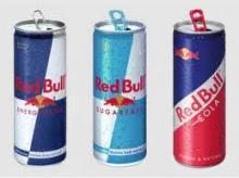 Fresh RedBull Drinks 250ml Cans