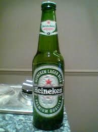 refreshing heineken lager beer