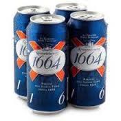 """French Kronenbourg 1664 drink ..."""""""""""""""""""