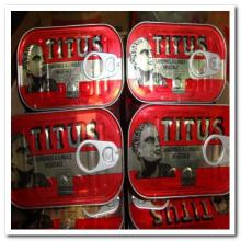 Titus Sardines in vegetable oil 125g (Morocco)