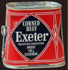Exeter corned beef (Argentina)