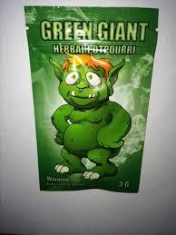 Green Giant Herbal Incense 3G BAG