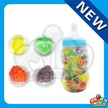 fruit shape cup jelly