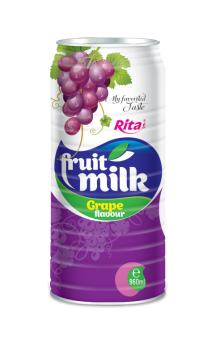 960ml Grape flavor Milk Drink