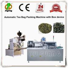 Automatic   tea   bag   packing   machine  with box device