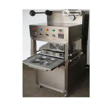 KIS-1 Table Type Semi Automatic Tray/cup Sealing Machine with gas filling and expiration date printe