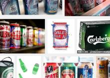 Canned beer, heineken, Carlsberg beer, beverage,tiger beer, TSINGTAO BEER, Pringles ,Bavaria,Kron