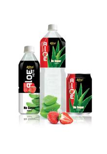 Aloe vera with strawberry 3 packing