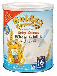 GOLDEN COUNTRY - BABY CEREAL WITH VITAMINS