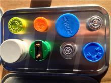 8011 Lacqued aluminium strip for medicine bottle caps