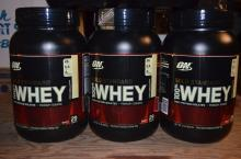 NEW OPTIMUM NUTRITION GOLD STANDARD 100% WHEY