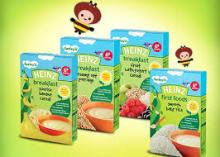 Heinz Baby Food Wholesale -Organic Whole Grain Oatmeal Cereal