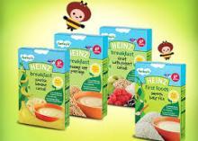 Heinz Baby Food Wholesale -Multigrain Cereal with Sweet Potato