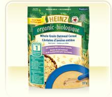Heinz Baby Food Wholesale -Organic Multigrain Cereal with Fruit