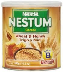 Nestle Nestum Baby Cereal / Wheat and Honey For Sale
