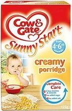 Cow & Gate Sunny Start Creamy Porridge 4mth+ (125g)