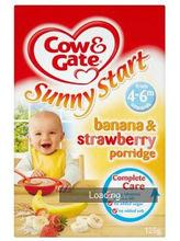 Cow & Gate Sunny Start Multigrain Banana Porridge 7mths+ (200g)
