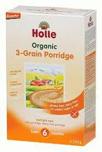 Wholesale Holle 3 grain porridge 250