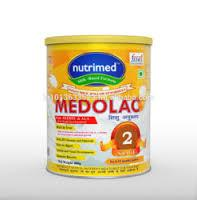 Baby Cereal with milk-MEDOLAC brand from NUTRIMED