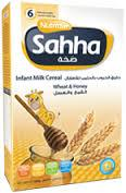Sahha Baby Cereals Wholesale (Arab and English Text)