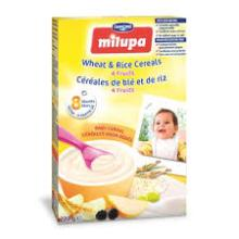 Milupa Baby cereal - Wheat/ Rice/ 4 Fruits Wholesale