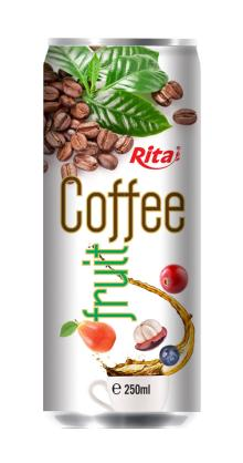 250ml Fruit Flavor Coffee Drink