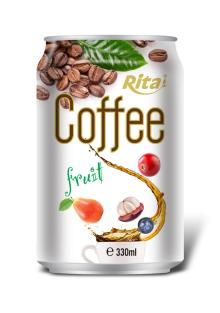 330ml Fruit Flavor Coffee Drink