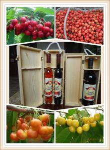 cherry brandy/rum/wine/alcohol