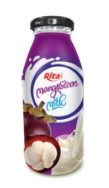 250ml Glass bottle Mangosteen Milk