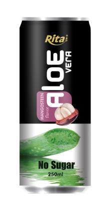 Aloe vera with mangosteen juice 250 ml no sugar