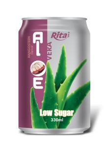 Aloe vera with mangosteen juice 330ml canned