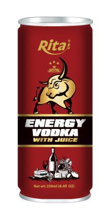 Vodka Energy Drink with Juice