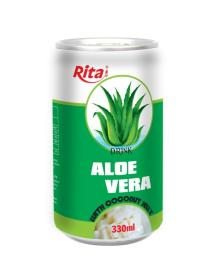 Aloe vera with Jelly 330ml canned