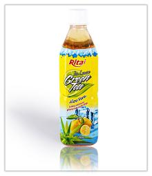 Aloe vera with green tea 500ml