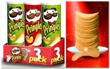 Pringles Potato Chips.