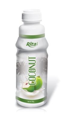 Coconut milk 500ml PP Bottle