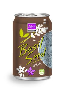 500ml Canned Basil Seed Drink