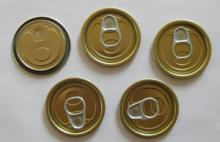 #202-53mm tinplate easy open end for food cans packaging