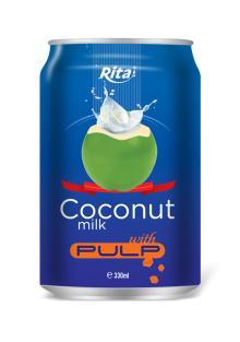 Coconut milk with pulp 330ml _1