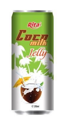 Coconut milk with jelly 250ml