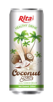 Coconut milk with jelly 250ml-1