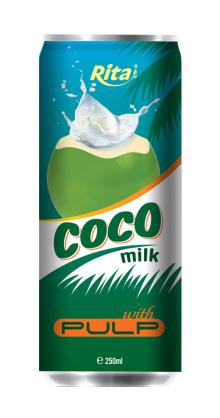 Coconut milk with pulp 250ml