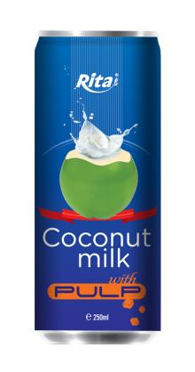 Coconut milk with pulp 250ml _1