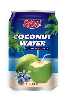 Coconut water with blueberry 330ml